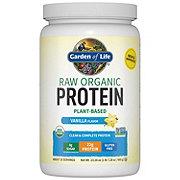 Garden of Life Raw Protein Vanilla Organic Protein Formula