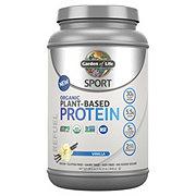 Garden of Life Sport Organic Plant-Based Vanilla Protein Powder