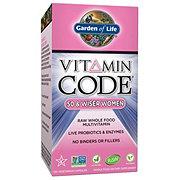 Garden of Life Vitamin Code 50 & Wiser Women