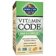 Garden of Life Vitamin Code B Complex Vegan Capsules