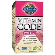 Garden of Life Vitamin Code Raw B-12 Capsules