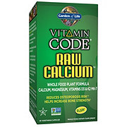 Garden of Life Vitamin Code Raw Calcium Vegetarian Capsules