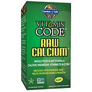 Garden of Life Vitamin Code Raw Calcium Vegetarian Capsules