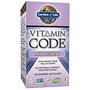 Garden of Life Vitamin Code Raw Prenatal Vegetarian Capsules