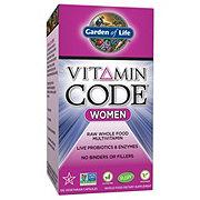 Garden of Life Vitamin Code Women Multivitamin Vegetarian Capsules