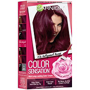 Garnier Color Sensation Hair Color Cream 4.26 Hollywood Rouge Intense Burgundy