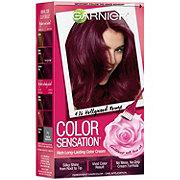 Garnier Color Sensation Hair Color Cream 4.26 Hollywood Rouge Intense Burgundy
