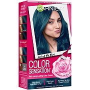 Garnier Color Sensation Hair Color Cream 6.17 Out Of The Blue Soft Teal Blue