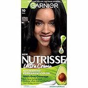 Garnier Nutrisse Nourishing Color Creme 10 Black (Licorice)