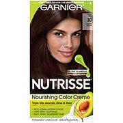 Garnier Nutrisse Nourishing Color Creme 30 Darkest Brown (Sweet Cola)