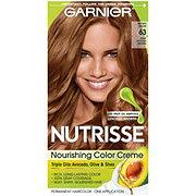 Garnier Nutrisse Nourishing Color Creme 63 Light Golden Brown (Brown Sugar)
