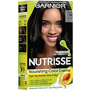 Garnier Nutrisse Nourishing Hair Color Creme 10 Black Licorice