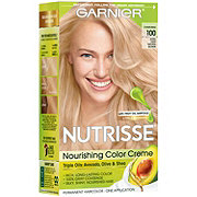 Garnier Nutrisse Nourishing Hair Color Creme 100 Extra-Light Natural Blonde Chamomile