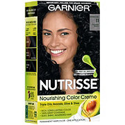 Garnier Nutrisse Nourishing Hair Color Creme 11 Blackest Black