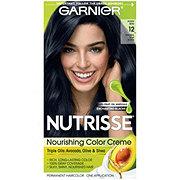 Garnier Nutrisse Nourishing Hair Color Creme 12 Natural Blue Black