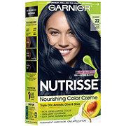 Garnier Nutrisse Nourishing Hair Color Creme 22 Intense Blue Black