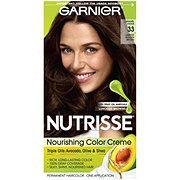 Garnier Nutrisse Nourishing Hair Color Creme 33 Darkest Golden Brown