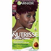 Garnier Nutrisse Nourishing Hair Color Creme 362 Darkest Berry Burgundy