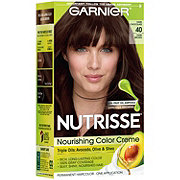 Garnier Nutrisse Nourishing Hair Color Creme 40 Dark Brown Dark Chocolate