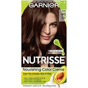 Garnier Nutrisse Nourishing Hair Color Creme 413 Bronze Brown