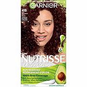 Garnier Nutrisse Nourishing Hair Color Creme 415 Soft Mahogany Dark Brown Raspberry Truffle