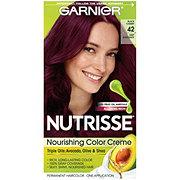 Garnier Nutrisse Nourishing Hair Color Creme 42 Deep Burgundy Black Cherry