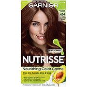 Garnier Nutrisse Nourishing Hair Color Creme 434 Deep Chestnut Brown Chocolate Chestnut