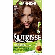 Garnier Nutrisse Nourishing Hair Color Creme 535 Medium Gold Mahogany Brown