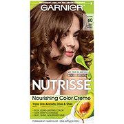 Garnier Nutrisse Nourishing Hair Color Creme 60 Light Natural Brown Acorn