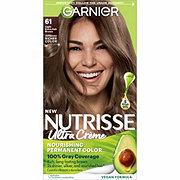 Garnier Nutrisse Nourishing Hair Color Creme 61 Light Ash Brown Mochaccino