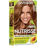 Garnier Nutrisse Nourishing Hair Color Creme 63 Light Golden Brown Sugar