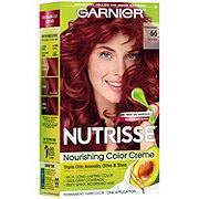 Garnier Nutrisse Nourishing Hair Color Creme 66 True Red Pomegranate
