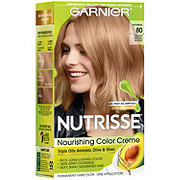 Garnier Nutrisse Nourishing Hair Color Creme 80 Medium Natural Blonde Butternut