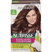 Garnier Nutrisse Nourishing Hair Color Foam 6 Light Brown