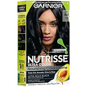 Garnier Nutrisse Ultra Color Nourishing Hair Color Creme BL11 Jet Blue Black