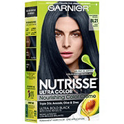 Garnier Nutrisse Ultra Color Nourishing Hair Color Creme BL21 Blue Black