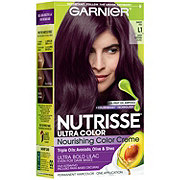 Garnier Nutrisse Ultra Color Nourishing Hair Color Creme L1 Deep Intense Lilac Sweet Fig