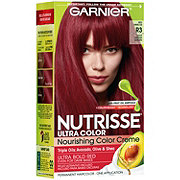 Garnier Nutrisse Ultra Color Nourishing Hair Color Creme R3 Light Intense Auburn