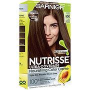 Garnier Nutrisse Ultra Coverage Hair Color 500 Deep Medium Natural Brown Glazed Walnut