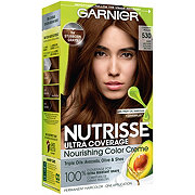 Garnier Nutrisse Ultra Coverage Hair Color 530 Deep Medium Golden Brown Chestnut Praline