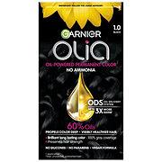 Garnier Olia Oil Powered Permanent Hair Color 1.0, Black