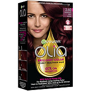 Garnier Olia Oil Powered Permanent Hair Color 3.60 Darkest Red Rose Hair Dye