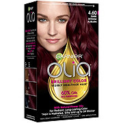 Garnier Olia Oil Powered Permanent Hair Color 4.60 Dark Intense Auburn Hair Dye