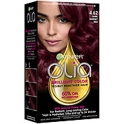 Garnier Olia Oil Powered Permanent Hair Color 4.62 Dark Garnet Red Hair Dye