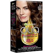 Garnier Olia Oil Powered Permanent Hair Color 5.3 Medium Golden Brown Hair Dye
