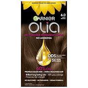 Garnier Olia Oil Powered Permanent Hair Color 6.0 Light Brown Hair Dye