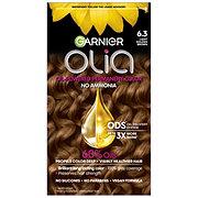 Garnier Olia Oil Powered Permanent Hair Color 6.3 Light Golden Brown Hair Dye