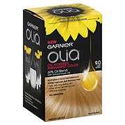 Garnier Olia Oil Powered Permanent Hair Color 9.0 Light Blonde Hair Dye