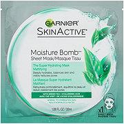 Garnier Skin Active The Super Hydrating Sheet Mask Mattifying Moisture Bomb
