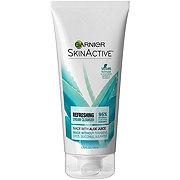 Garnier SkinActive Cream Face Wash with Aloe Juice